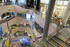 Langham place shopping mall in Hnng Kong Royalty Free Stock Photography