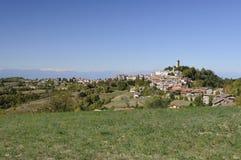 langhe χωριό murazzano Στοκ φωτογραφίες με δικαίωμα ελεύθερης χρήσης