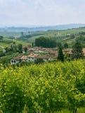 Langhe (Пьемонт, Италия) стоковая фотография