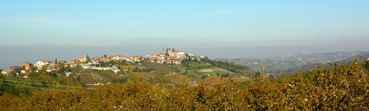 Langhe landscape, Italy Stock Photos