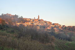 Langhe and Roero region, village of Govone, Piemonte, Italy Royalty Free Stock Images