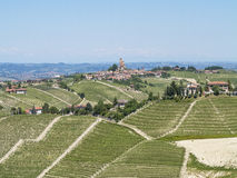 Langhe's panorama Stock Photography