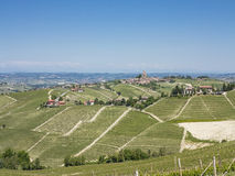 Langhe's panorama Royalty Free Stock Photo