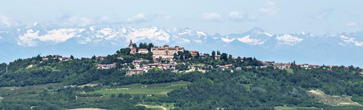 Langhe, vineyards Stock Photo