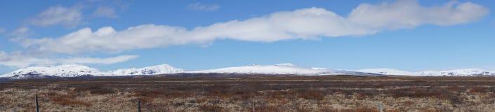 Langjökull från F35 Arkivbilder