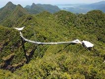Langkawai-skywalk Lizenzfreies Stockfoto