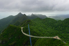 Langkawi,桥梁 免版税库存照片