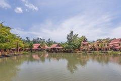 东方村庄, Langkawi,马来西亚 库存图片