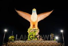 Langkawi-Adlerquadrat in Langkawi-Insel, Malaysia Lizenzfreies Stockfoto