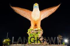 Langkawi-Adlerquadrat in Langkawi-Insel, Malaysia Stockbild