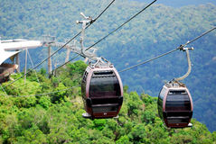 The Langkawi Cable Car Stock Image