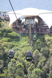 Langkawi Cable Car. The Langkawi Cable Car, also known as Langkawi SkyCab, is one of the major attractions in Langkawi Island, Kedah, Malaysia Stock Images