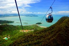 Langkawi Cable Car Royalty Free Stock Photography