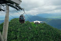 Langkawi Cable Car Stock Image