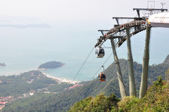 Langkawi Cable Car. Cable Car in Langkawi, Malaysia Stock Images