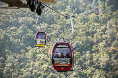 Langkawi Cable Car. Royalty Free Stock Photos
