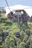 Langkawi-Drahtseilbahn Stockbilder