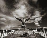 Langkawi Eagle przód Obrazy Stock