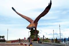Langkawi Eagle Statue Lizenzfreies Stockfoto
