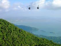 Langkawi-HügelDrahtseilbahn, Malaysia Lizenzfreie Stockbilder