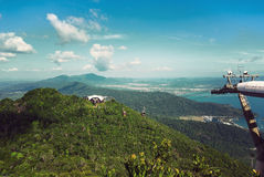 Langkawi hills cable car Stock Images