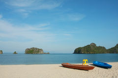 Langkawi holiday. Beaches suitable for family vacations and outdoor activities Stock Image