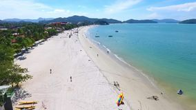 Langkawi-Insel, Malaysia, Vogelperspektive stock video