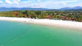 Langkawi-Insel, Malaysia, Vogelperspektive stock footage