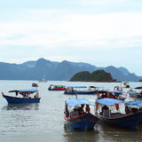 Boats in Langkawi Island Royalty Free Stock Images