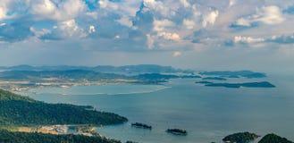 Langkawi island landscape, Malaysia Royalty Free Stock Image