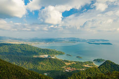 Langkawi island landscape, Malaysia Stock Photo
