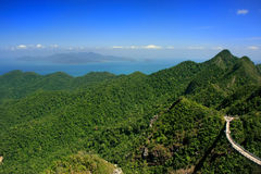 Langkawi island landscape, Malaysia Royalty Free Stock Photo