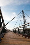 Langkawi - la manera al punto de vista del teleférico Foto de archivo
