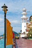Langkawi - le phare Photographie stock