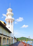 Langkawi Light house. Light house of the harbor of Langkawi's island, Malaysia Stock Images