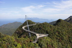 Langkawi nieba most Obraz Royalty Free