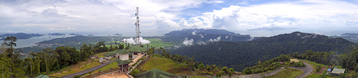 langkawi panorama- sikter Royaltyfria Bilder