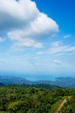 Langkawi sea hill sky Royalty Free Stock Photography