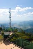 Langkawi-Seehügelhimmel lizenzfreie stockfotografie