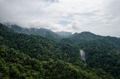 Langkawi sju brunnvattenfall Arkivbilder