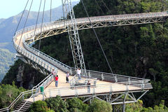 Langkawi Sky Bridge 01 Royalty Free Stock Photos