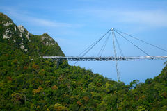 Langkawi Sky Bridge Royalty Free Stock Images