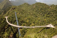 Langkawi Sky Bridge Stock Image