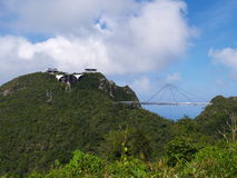 Langkawi Sky-bridge Stock Photo