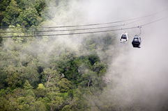LANGKAWI SKY BRIDGE CABLE CAR Stock Photos