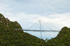 The Langkawi Sky Bridge in Langkawi Island Stock Photos