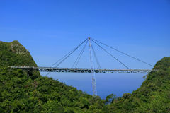 Langkawi Sky Bridge, Langkawi island, Malaysia Royalty Free Stock Photos