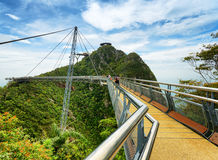 Langkawi Sky Bridge in Malaysia Royalty Free Stock Image