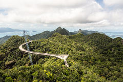 Langkawi skybridge stock photography
