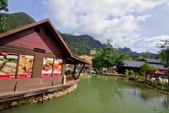 Langkawi SkyCab, Kedah, Malesia Immagini Stock
